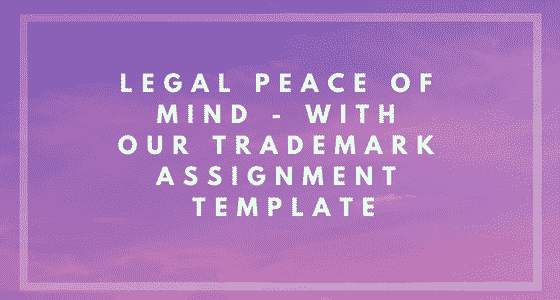 Trademark Assignment Template Image