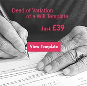 Deed of Variation of a Will Ad