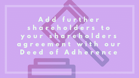 Guide to deed of adherence image