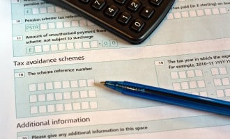 snapshot of an inland revenue tax form featured image