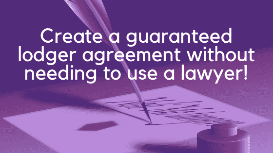 Guaranteed lodger agreement image