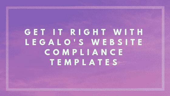 Website compliance image
