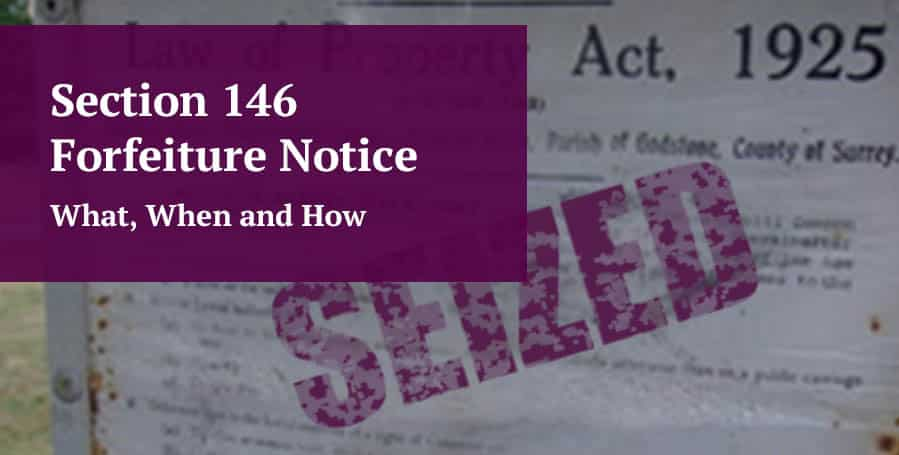 Section 146 Notice Guide Image