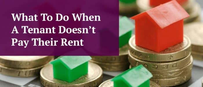 Tenant Not Paying Rent Header Image
