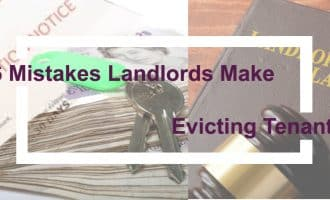 Top landlord eviction mistakes header image
