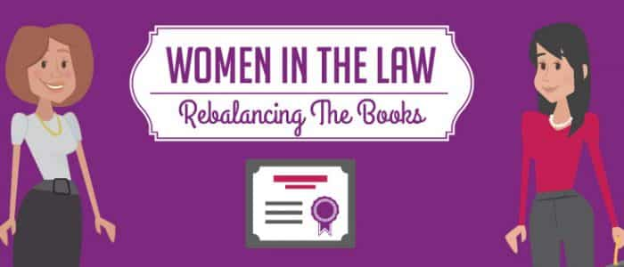 women in law header image