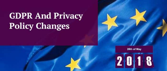 GDPR and Privacy Policies Header Image