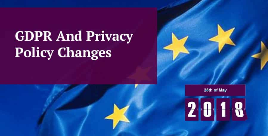 GDPR and Privacy Header Image