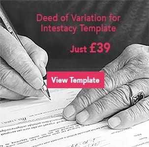 deed of variation for intestacy banner image