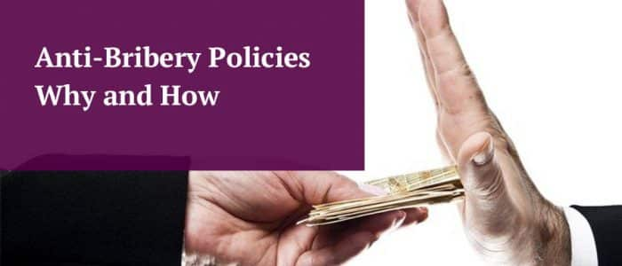 Anti Bribery Policy Guide Header Image