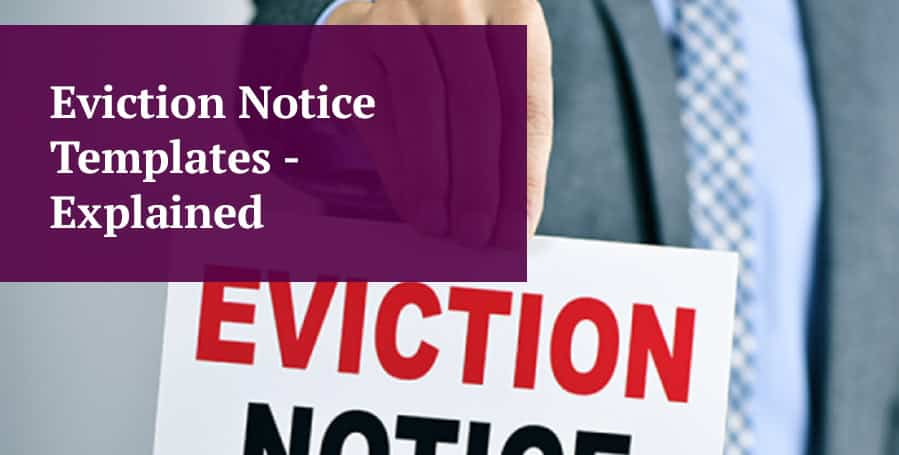 Eviction Notice Templates Explained For Landlords