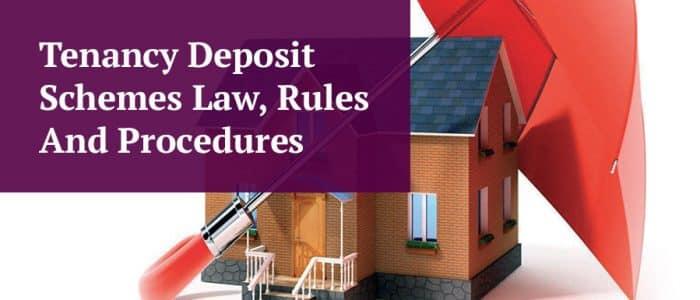 Tenancy Deposit Scheme Law and Rules Header Image