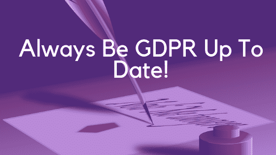 GDPR Kit - Always Be Up To Date Image