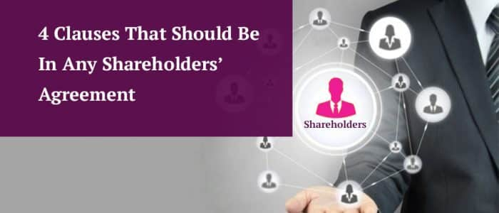 shareholders agreement clauses header image