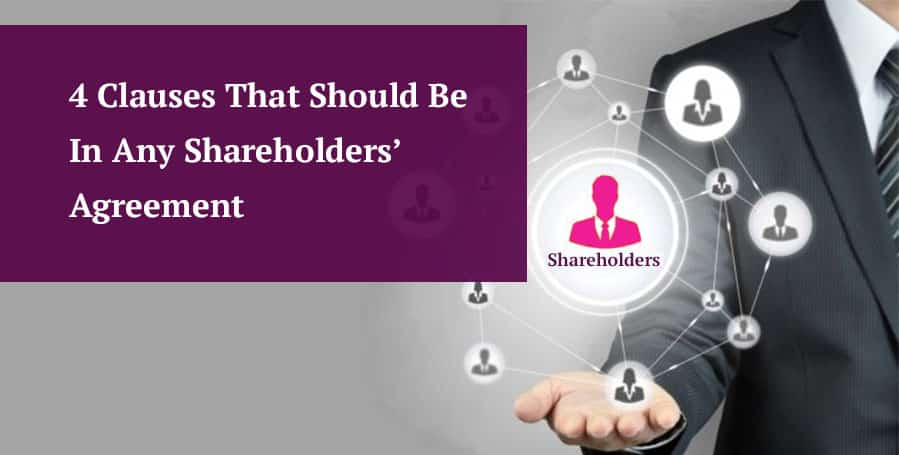 4 clauses that should be in any shareholders agreement header image