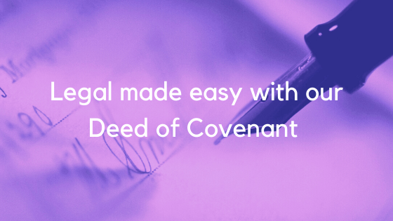 Deed of covenant image 2
