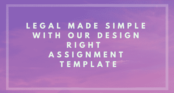 Design Right Assignment Agreement Banner Image