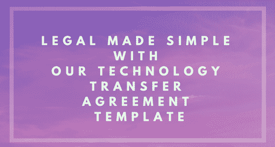 Technology Transfer Agreement Banner Image