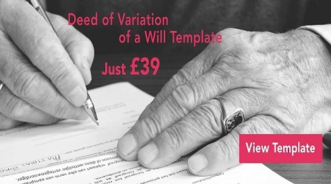 Deed of Variation Will Banner