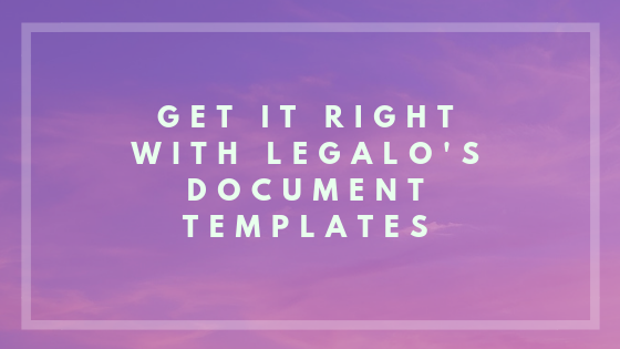 Legal Document Templates Image