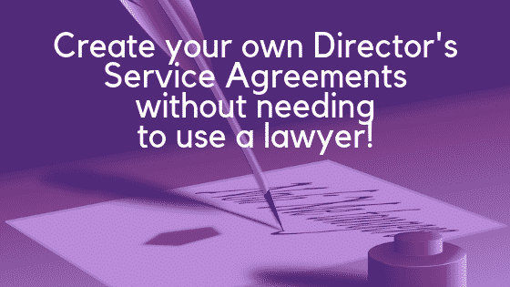 Directors service agreement image