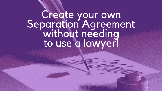 Separation agreement image
