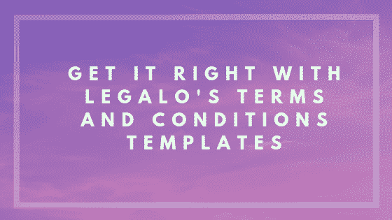 Terms and conditions B2B goods only image