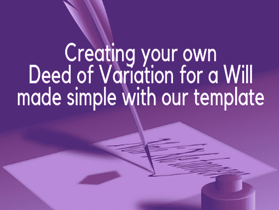 What is a Deed of Variation image