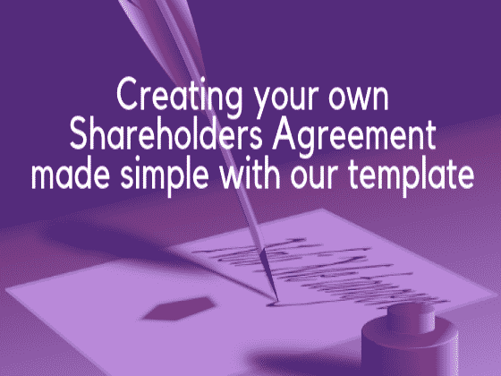 Why have a Shareholders agreement 2 image