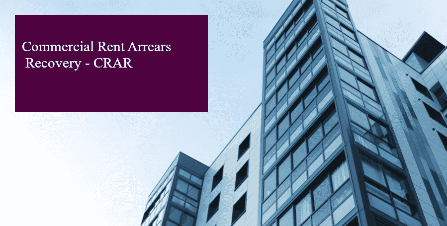 Commercial Rent Arrears Recovery header image