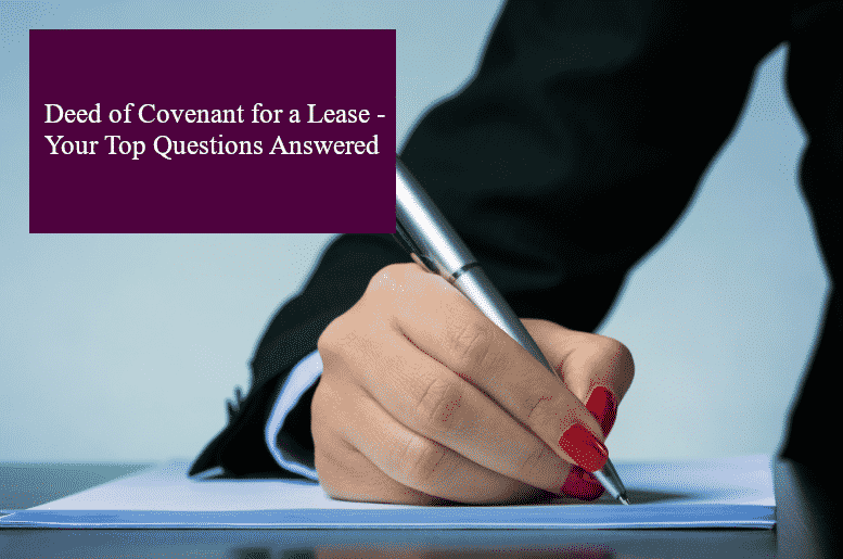 Deed of covenant header 1